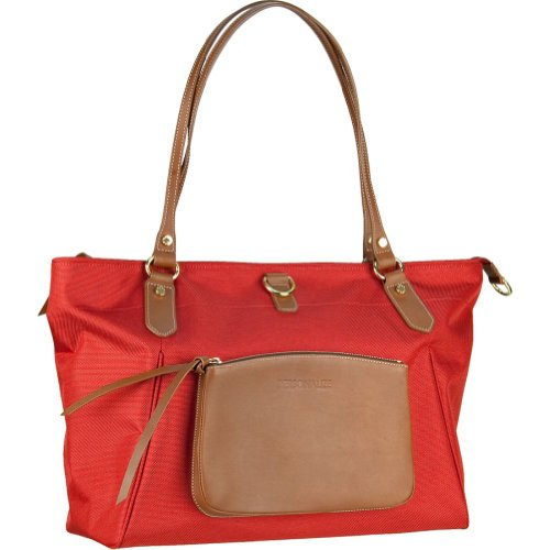 BLVD Friday Tote,Red,one size, Bags Central