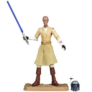 2012 Action Figure (Star Wars: Clone Wars 2012 Animated Series 3.75 inch Mace Windu Action Figure by Hasbro Inc)