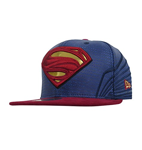 Superman Justice League Armor 59Fifty Fitted Hat- 7 1/2 59fifty Mens Fitted Hat Cap