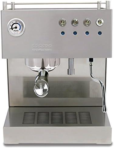 ascaso 600747 Steel Duo Pro Mate – Cafetera espresso: Amazon.es ...