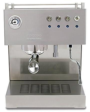 ascaso 600747 Steel Duo Pro Mate - Cafetera espresso: Amazon ...