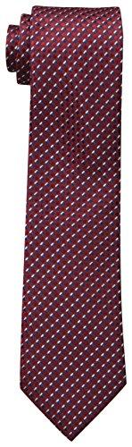 Dockers Big Boys' Geo Necktie, Red, One Size