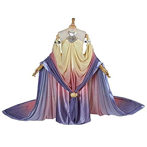 Women's Dress Queen Padme Amidala Naberrie Cosplay Costume (S) - Adult Padme Amidala Costume
