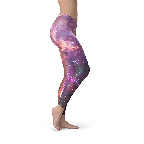 Fairytale Galaxy Fleece Leggings for Women Sizes XS-3XL Fleece Winter Warm