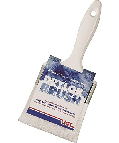 DRYLOK 90237 Synthetic Bristle Masonry Brush, 4-Inch, 4 Inch by Drylok
