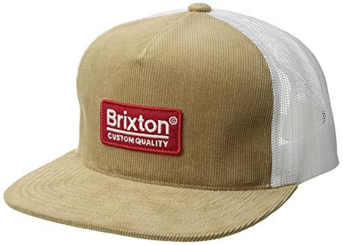 Brixton Men's Palmer MESH Cap, Khaki, O/S