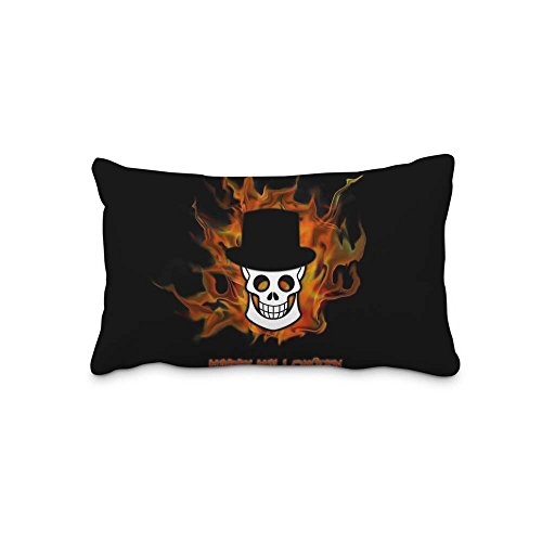 Best Gift Home Decorations Festival Halloween Pillow Shams Standard 20x30 Twin Sides Zip Pillow Cushion Covers