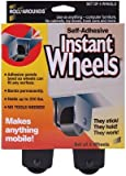 Master Manufacturing Self Adhesive Instant Wheels 4/Pkg 17234