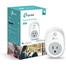 Kasa Smart WiFi Plug by TP-Link – Smart Plug, No Hub Required, Works with Alexa and Google (HS100)