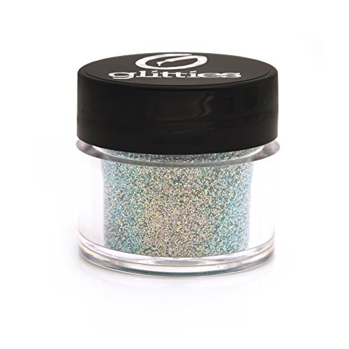 GLITTIES COSMETIC Extra Fine Mixed Glitter Powder-Make Up, Body, Face, Hair, Lips & Nails (Arctic Sky)