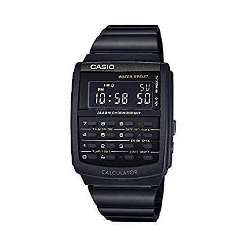 CASIO CA506B-1AVT Watch, Black (Black CA506B-1AVT)