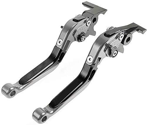 CNC Conjunto de Palanca de Embrague y Freno Extensibles Plegables para Honda CB650R CB 650 R CBR650R CBR 650 R 2019 Negro