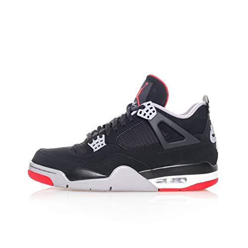 Jordan 4 Retro Bred 2019 Mens (10 M US)