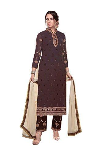 Traditonal Women Ethnic Brown Salwar Traditonal Designer Salwar Facioun Progettista Indiane Kameez Kameez Da Da Etnica 3 Donne 3 Partywear Facioun Partywear Indian Marrone Xwa0gE