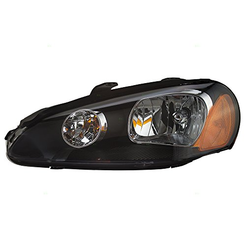Drivers Halogen Combination Headlight Headlamp Replacement for 03-05 Dodge Stratus Coupe MN133279 AutoAndArt ()