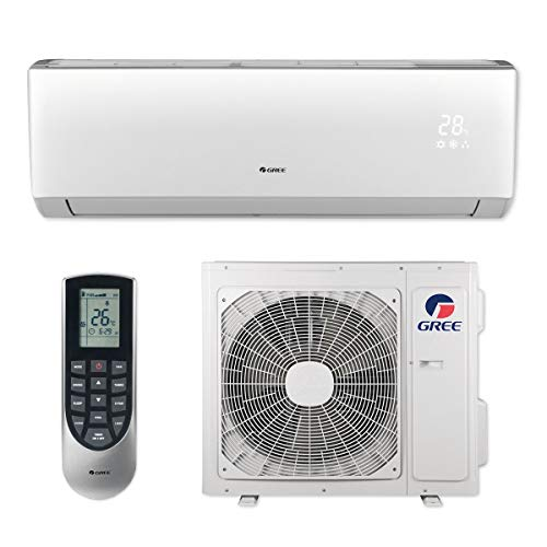 Gree VIR18HP230V1B - 18,000 BTU 20 SEER Vireo+ Wall Mount Ductless Mini Split Air Conditioner Heat Pump 208-230V ()