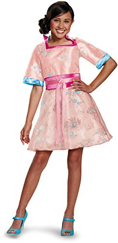 Disguise 88138K Lonnie Coronation Deluxe Costume, Medium (7-8) (Cold Weather Halloween Costumes)