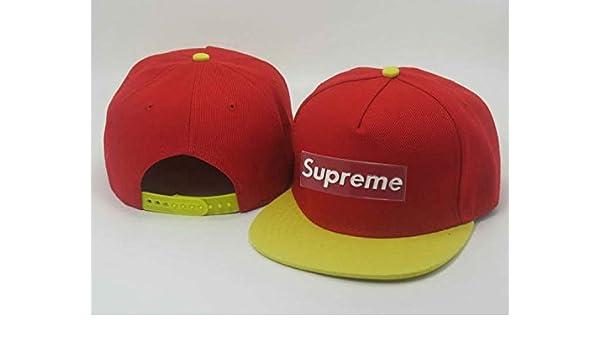 Adjustable Supreme Béisbol Sports Cap for Mr and Ms: Amazon.es ...