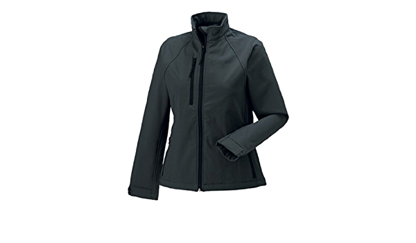 Russell Women/'s Softshell Jacket R-140F-0 Ladies Winter Wear Warm Fleece Coat