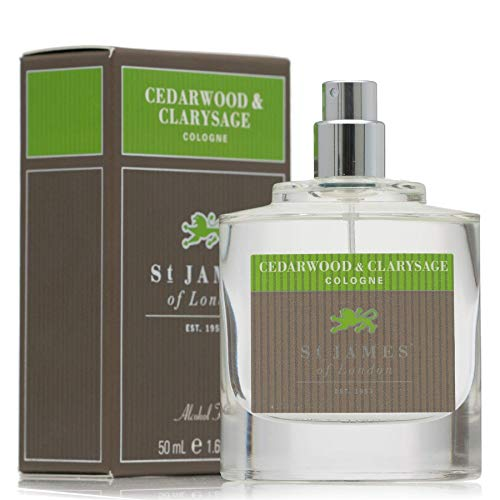 - St James of London Cedar Wood and Clarysage Cologne