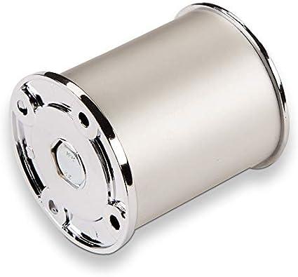 Sotech Juego de 4 SO-Tech® Patas de Mueble Pata del Armario Altura Regulable Ø 50 mm Alto: 60 mm