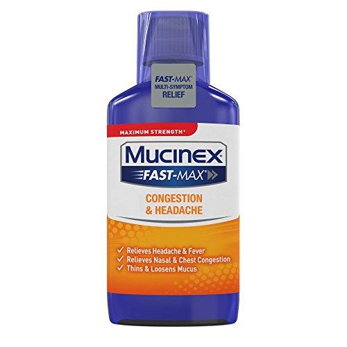 Mucinex Fast-Max Congestion & Headache Liquid, 6oz