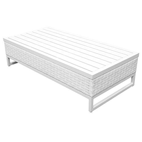 TK Classics TKC047b-CT Miami Seating Patio Furniture, Timeless White (Patio Clearance Miami Furniture)