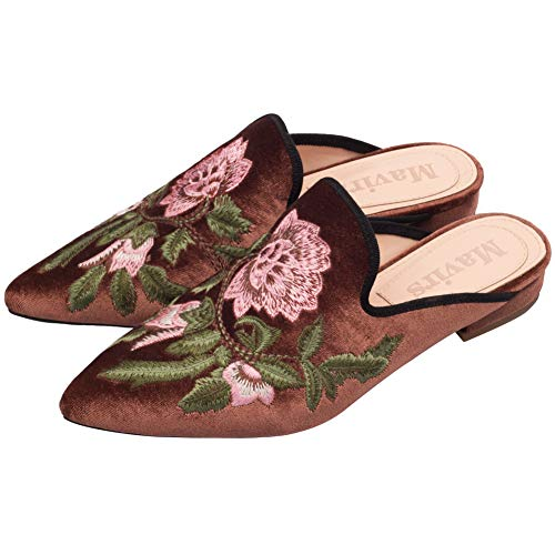 Pictures of Mavirs Loafers For Women Womens Loafers Velvet 4