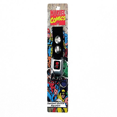 C9K INC AMAZING SPIDER-MAN SEATBELT STYLE KEYCHAIN BY BUCKLE-DOWN