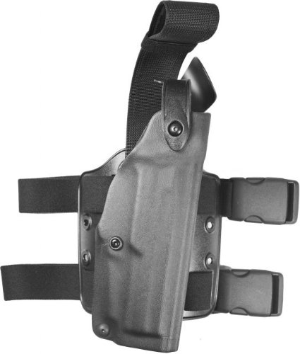 Safariland 6004 SLS Tactical Holster - Tactical Black, Right Hand 6004-94-121 from Safariland