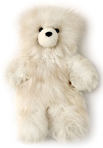 (Baby Alpaca Fur Teddy Bear - Hand Made 12 Inch)