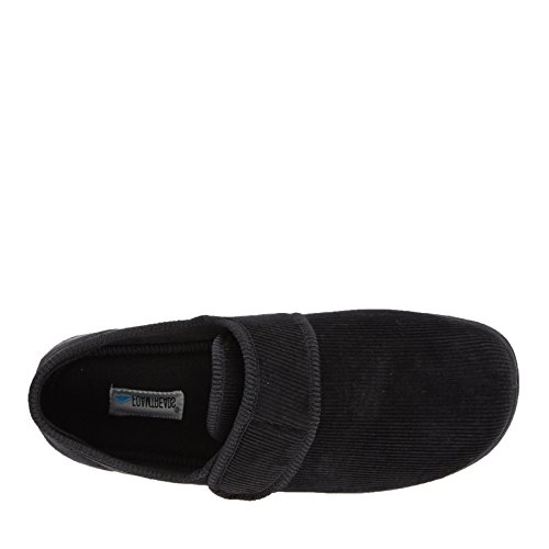 9 Foamtreads Men's US W Slipper Barry Black XvUqaOvw