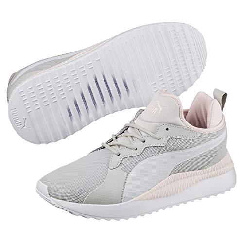 Puma Mixte-erwachsene Stimulateur Suivant Chaussure Gris-violet Blanc Perle