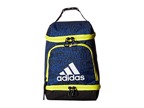 adidas Unisex Excel Lunch Bag Collegiate Royal Dapple/Shock Yellow/Black One Size (Best Packed Lunches For Adults)