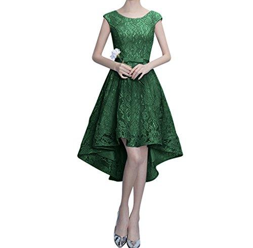 Abendkleider Damen Dunkel Rosa Ausschnitt Lang A Traumhaft Figurbetont Partykleider Linie Spitze Gruen Charmant Perlen xZq6WdAYa6