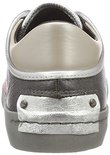 032 Femme Gris Crime London grigio 25062aa1 Basses 32 Sneakers CPT8wq