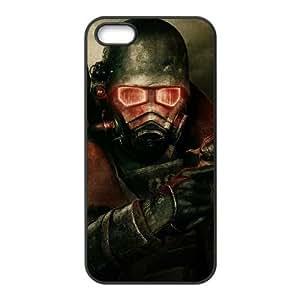 Fallout New Vegas 3 3971 Funda iPhone 4 4S Funda caja del teléfono celular Negro K4M9LLOZ teléfono celular de plástico duro caso