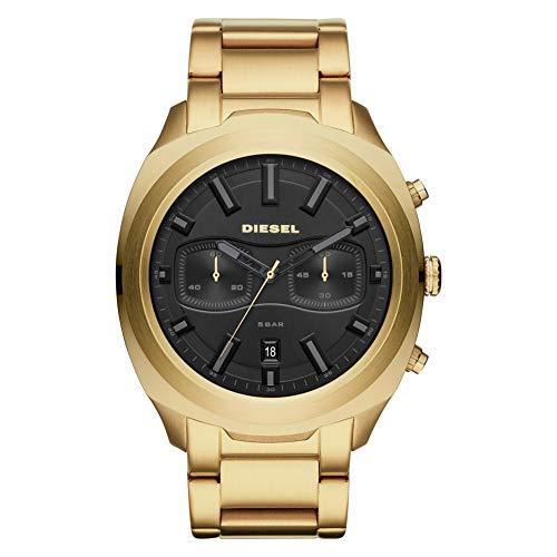 Diesel Mens Chronograph Quartz Watch with Stainless Steel Strap DZ4492