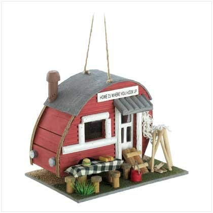 Smart Living Company 10012503 Vintage Trailer Birdhouse (Skateboard Bird House Complete)