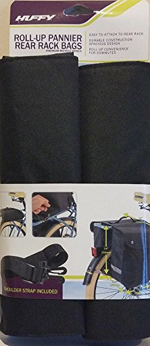 Huffy Cruiser Rollup Rear Pannier Bag Black by HUFY (Image #6)
