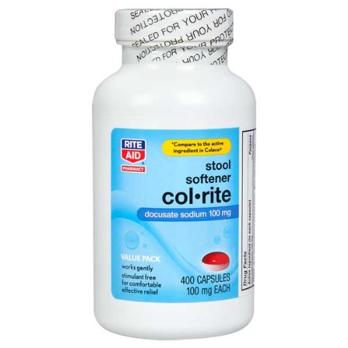 Rite Aid Col Rite Stool Softener 400 Ea Amazon Review
