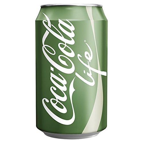 Coca-Cola Leben 330ml (Packung mit 24 x 330 ml)