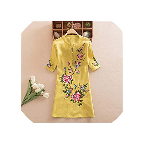 Mulan Costumes Philippines - Women's National Wind Loose Cotton and