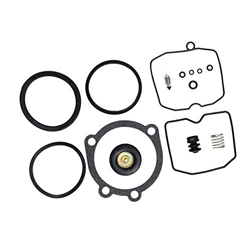 (I-Joy 20709 Carburetor Rebuild Kit fits Harley Davidson Sportster XL 883 1200 Keihin CV Type Carb Replacement Repair Kit 1990-Up 100% New 1-Month Warranty)