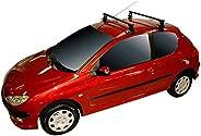 Rack Long Life Em Aço Para Carros Sem Calha Peugeot 206 / 207 Hatch – 2 Portas