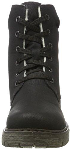 Rieker Y9020, Botines para Mujer Negro (schwarz / 00)