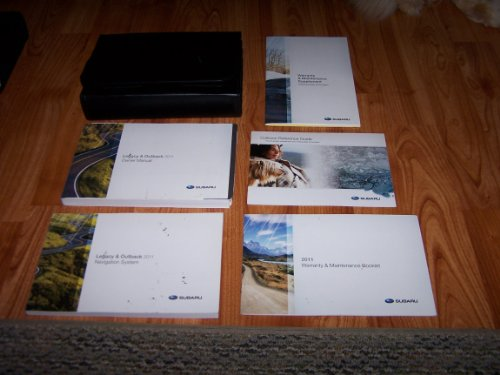 Subaru Outback Owners Manual - 2011 Subaru Legacy and Outback Owners Manual