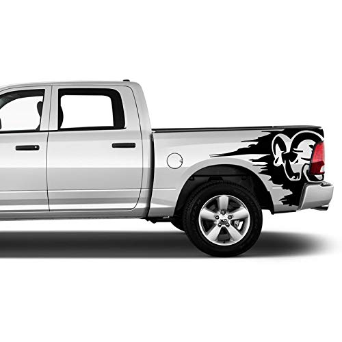 dodge ram bed decal - 4