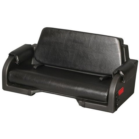 Wes (124-0015) Contour Rear Bench Seat for Single Seat ATVs