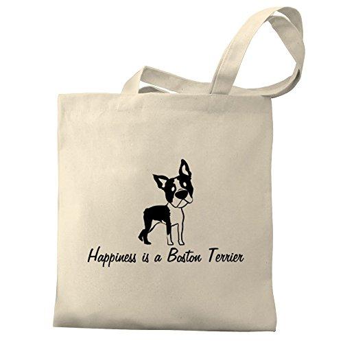 Eddany Happiness is a Boston Terrier Bereich für Taschen
